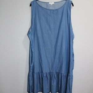 B.P. Peplum Tank Top/Dress Size XXL New with Tags